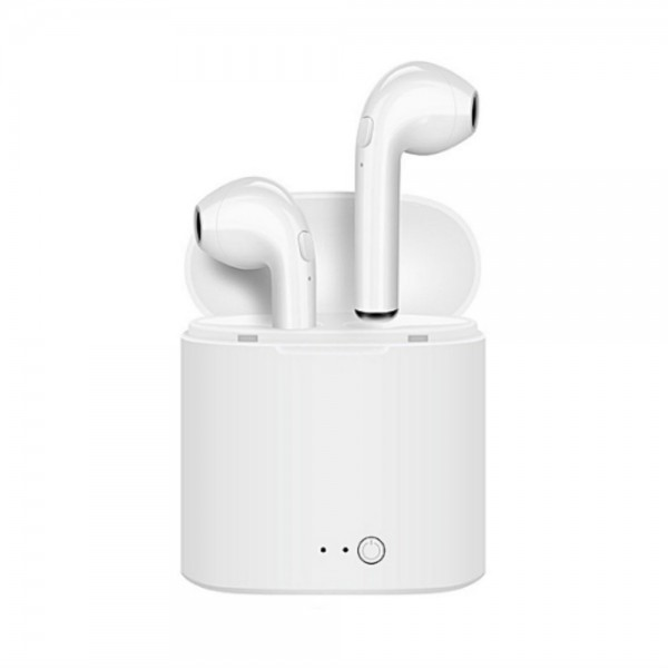 Generic i7S TWS In-ear Wireless Bluetooth Headsets - White