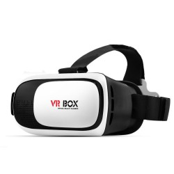 """3D Virtual Reality Box Glasses for 3.5 - 6.0"""" Smart phone + Bluetooth Controller"""