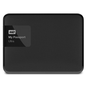 WD My Passport Ultra - 2TB USB 3.0 External Hard Disk - Black