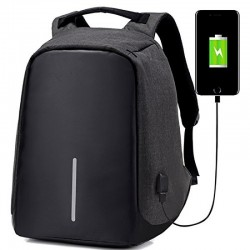 Anti-theft USB Charging Port laptop Backpack Bag