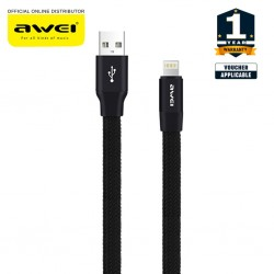 Awei CL97 Fast Charge Data Cable For iPhone iPad iPod 1M