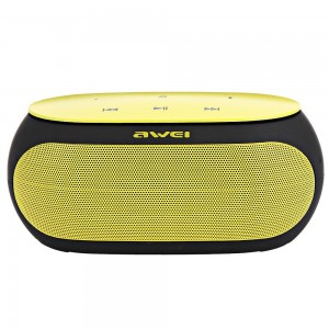 Awei Y200 HiFi Wireless Speaker Bluetooth- Yellow