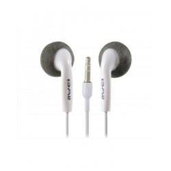 Awei ES10 -Simply Sound Stereo Earphones White