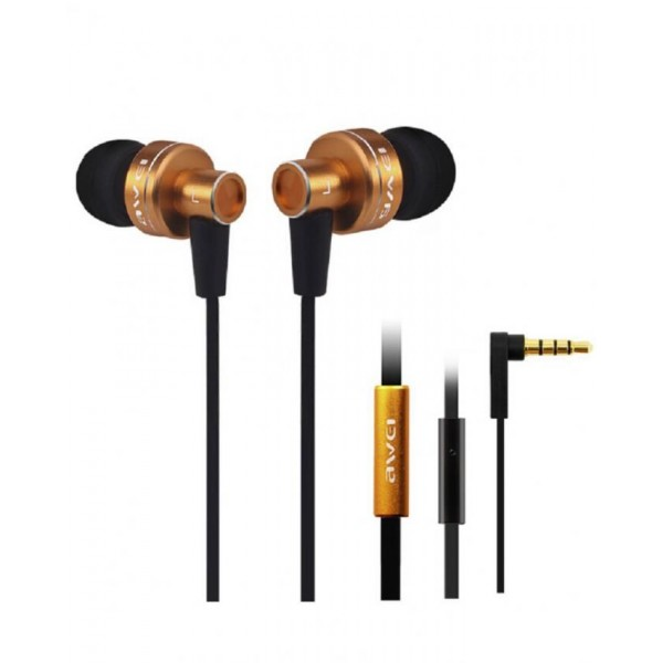 Awei ES900i - In-Ear Earphones [Clear Bass] with Mic