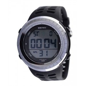 Bistec Sport LED Dial Black Silicone Strap - 09631