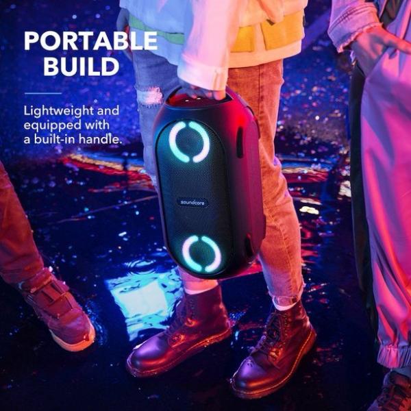 Anker Soundcore Rave PartyCast – 80W IPX7 Waterproof Bluetooth Speaker