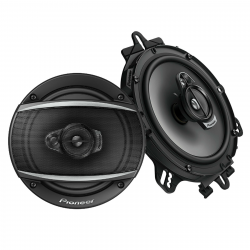 "Pioneer TS-A1677S 6.5"" 3 Way Car Audio Speakers 320 Watts"