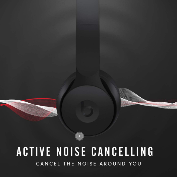 Beats Solo Pro Wireless Noise Cancelling On-Ear Headphones with Apple H1 Headphone Chip