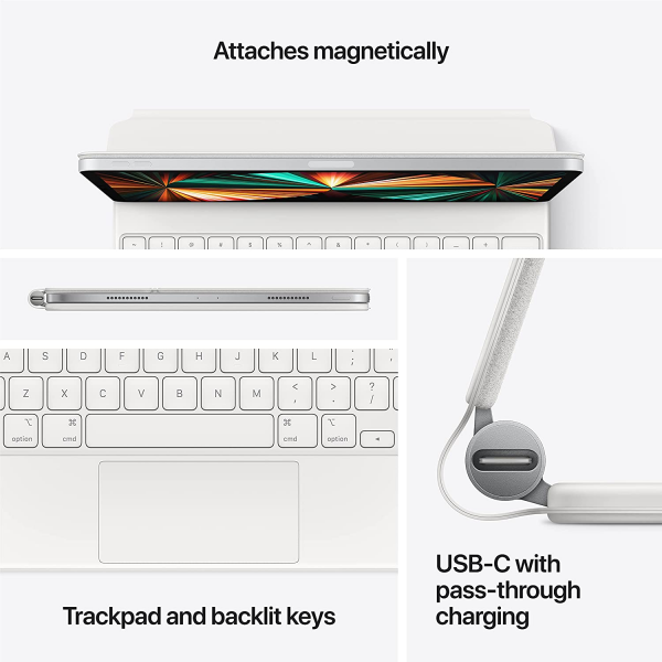Apple Magic Keyboard for iPad Pro 11-inch (3rd Generation) and iPad Air (4th Generation)