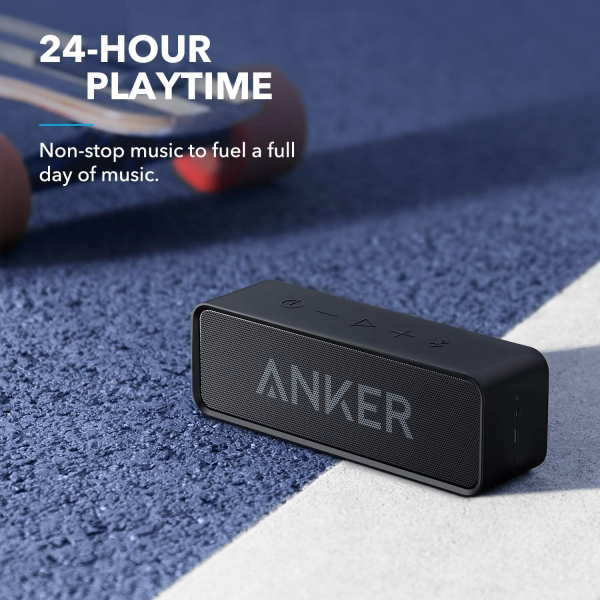 Anker Soundcore Portable Wireless Speaker with Superior Sound and Built-in Mic