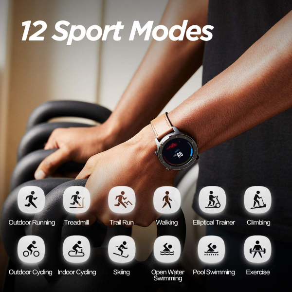 Amazfit GTR S  Fitness Smartwatch with Heart Rate Monitor & GPS