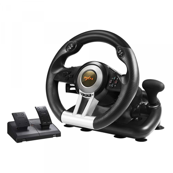 PXN V3II Racing Steering Wheel with Pedals for PS3, PS4, Xbox One,Xbox