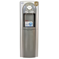 Bruhm BWD HC37CE - Hot & Cold Water Dispenser - Grey Silver