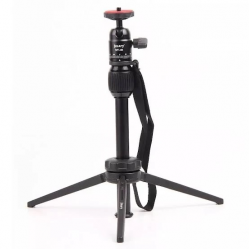 JMARY MT-68 - Table-Top Extendable Fold-able Tripod Stand for Phones and DSLR Cameras