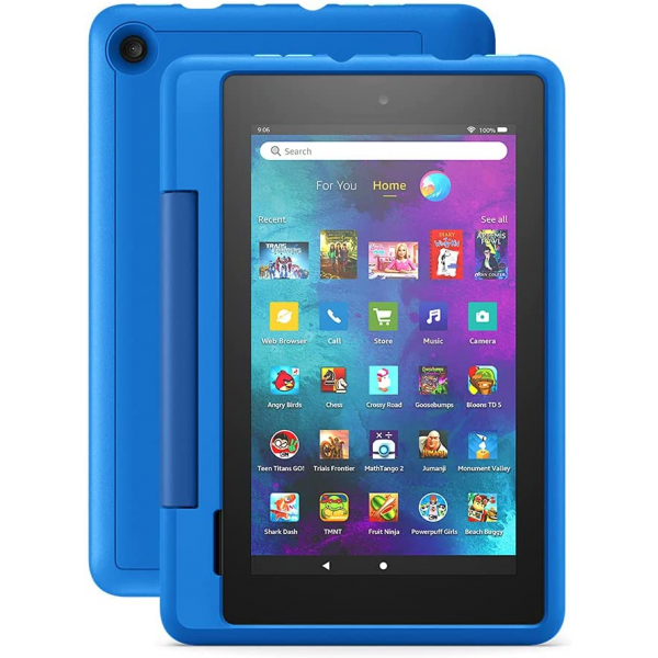 """Amazon Fire 7 Kids Pro tablet, 7"""" display, Ages 6+, 16 GB (2021)"""