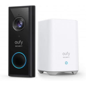 Anker eufy Security, Wireless Video Doorbell (Battery-Powered) with 2K HD