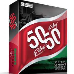 50 (Fifty) - 50 (Fifty) Kenyan Board Game