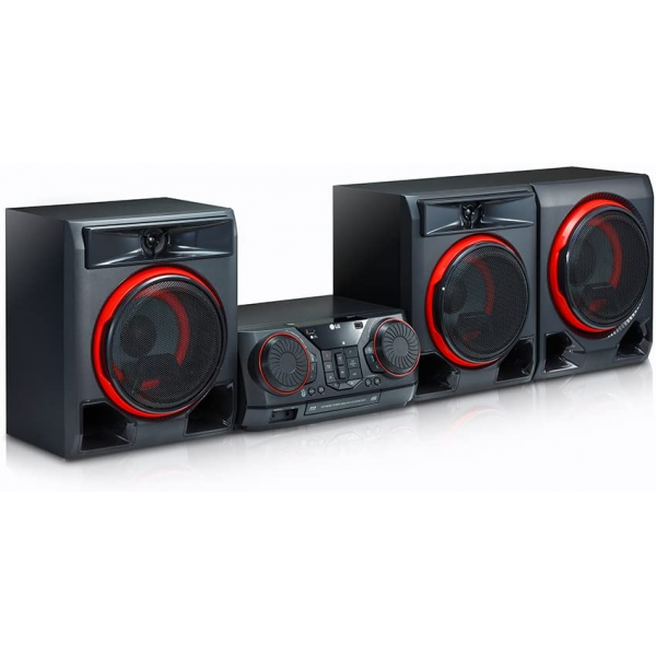 LG XBOOM CK57 Entertainment System with LED Lights and Karaoke Creator