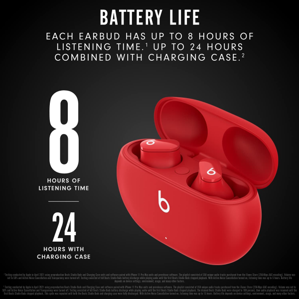 Beats by Dr. Dre - Beats Studio Buds Totally Wireless Noise Cancelling Earphones