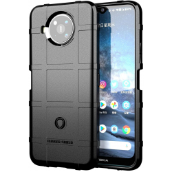 Rugged Shield  Heavy Duty Shockproof Military Grade Case for Nokia 8.3, 2.4,3.4