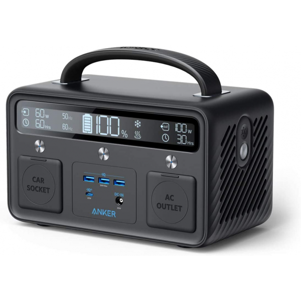Anker PowerHouse II 400,Portable Power Station 388.8Wh,516W Total Output