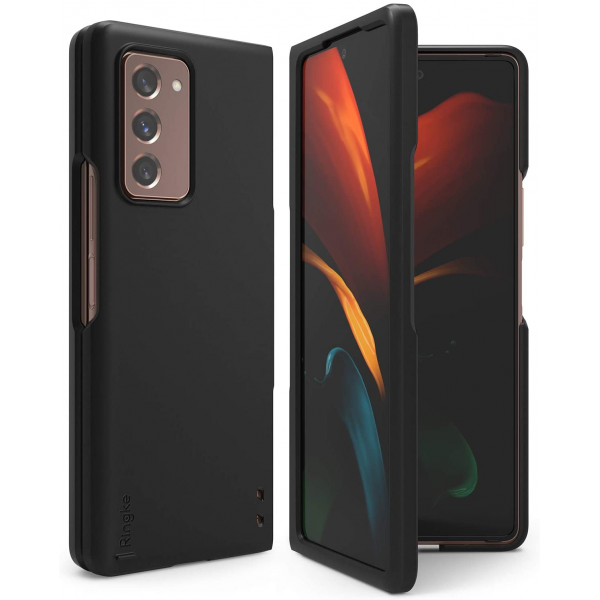 Ringke Slim  Durable Solid PC Protective Case for Galaxy Z Fold 2 Case - Black