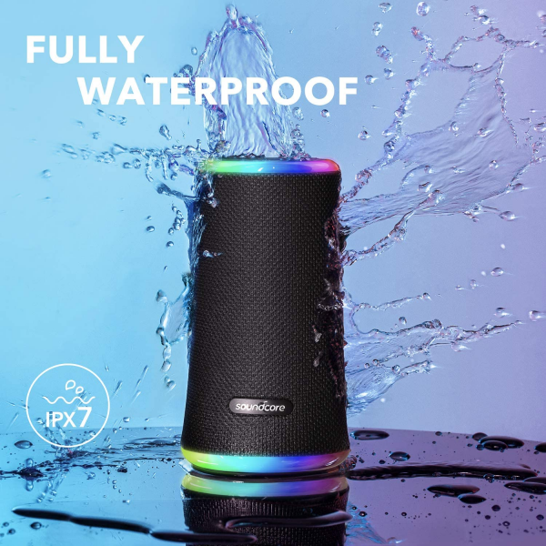 Anker Soundcore Flare 2 360° Bluetooth Speaker with PartyCast