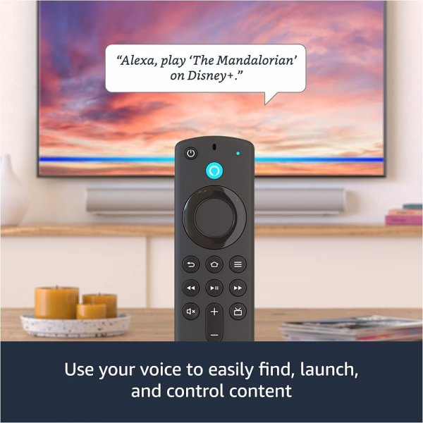 Amazon Fire TV Stick 4K with Alexa Voice Remote Streaming Media Player