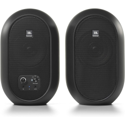 JBL 104-BT (Pair)  Compact Desktop Reference Monitors with Bluetooth
