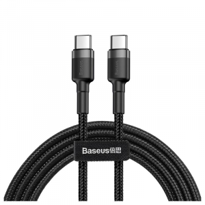 Baseus Cafule Type-c / Type-c Cable Catklf-hg1 - 2m - Black / Grey