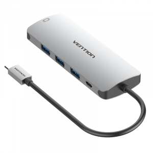 Vention USB Type C to Multi-Function 9 IN 1 Hub / Docking Station