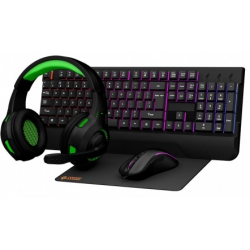 Porodo PDX213-BK 4 In 1 Gaming Starter Kit