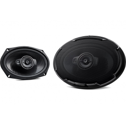 "Kenwood KFC-PS6976 550W 6"" x 9"" 3 Way Full Range Door Speakers 550W"