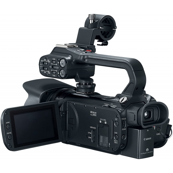 Canon XA11  Flash Memory 4K Resolution, 20x Optical Zoom and 3 Inch Screen Size Camcorder