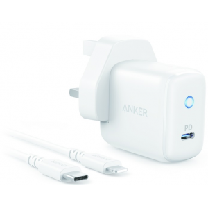 Anker 18W Powerport PD 1 with 3ft C to Lightning Cable