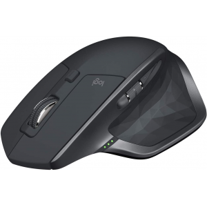 Logitech MX Master 2S Wireless Mouse with Flow Cross-Computer Control and File Sharing for PC and Mac