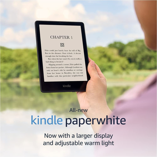 Amazon Kindle Paperwhite 11th Generation (8 GB, 6.8 inch)  Ereader