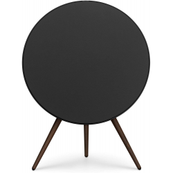 Bang & Olufsen Beoplay A9 4th Gen Wireless Multiroom Speaker, Black with Walnut Legs