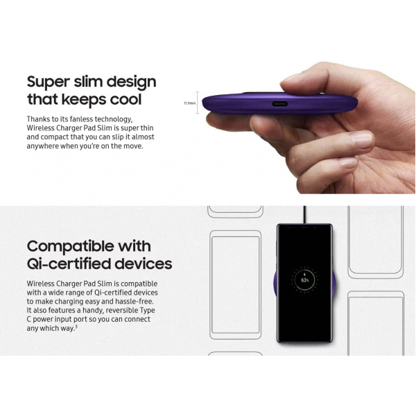 Samsung BTS Official Fast Wireless Charging Pad Slim 9W