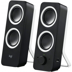 Logitech Z200 2.0 Multimedia Speakers - Black