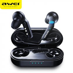 AWEI T10C TWS  True Wireless Bluetooth Earbuds With Mic