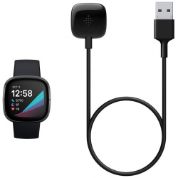 Fitbit Sense and Versa 3 Charging Cable, Official Fitbit Product