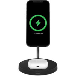 Belkin BOOST CHARGE PRO 2-in-1 15W Wireless Charger with MagSafe