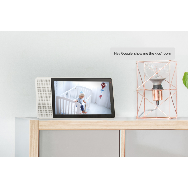 """Lenovo Smart Display 10"""" with the Google Assistant"""