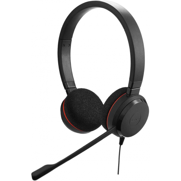 Jabra Evolve 20 MS Teams Wired USB A Headset - Stereo