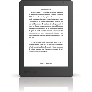 "Kobo Aura - eBook reader - 4 GB - 6"" Black"