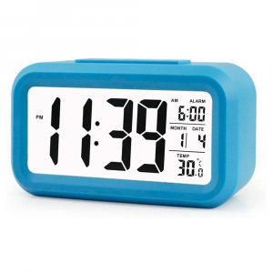 LED Digital Backlit Alarm Clock WithThermometre And Calendar