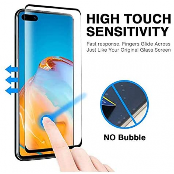 3D Full Tempered Glass Screen Protector for Huawei P40 Pro Smartphone