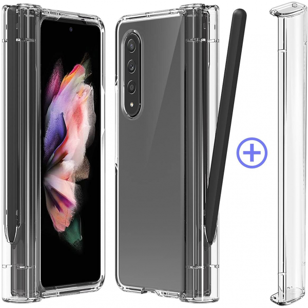 araree NUKIN 360 P Full Protective Clear Cover for Samsung Galaxy Z Fold 3 5G