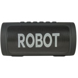 Robot Multimedia Portable Bluetooth Double Speaker with FM